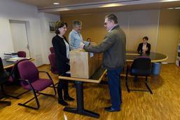 Jour de votation à Bossonnens