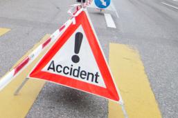 Motocycliste accidenté à Châbles