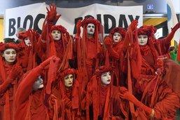 Soutien pour les activistes du Black Friday