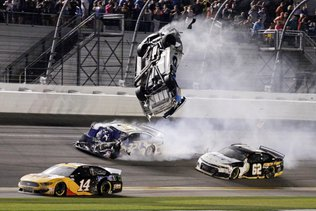 NASCAR: grave accident à Daytona