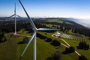 Record de production d'électricité éolienne en 2019