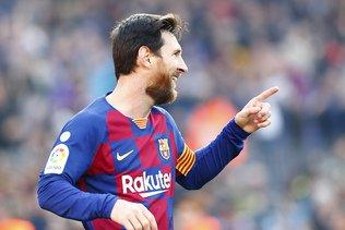 Un quadruplé pour Messi