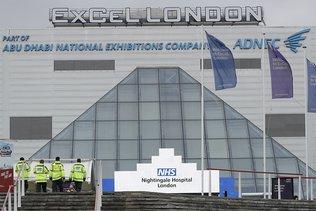 Un immense hôpital de campagne ouvre à Londres