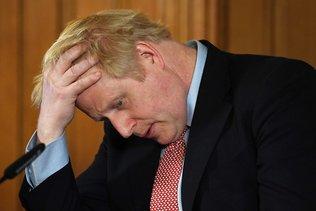 """Pas encore """"tiré d'affaire"""", Boris Johnson doit se reposer"""