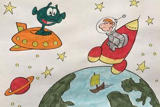 Les dessins intergalactiques