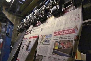 Chômage partiel à «La Liberté» et «La Gruyère»