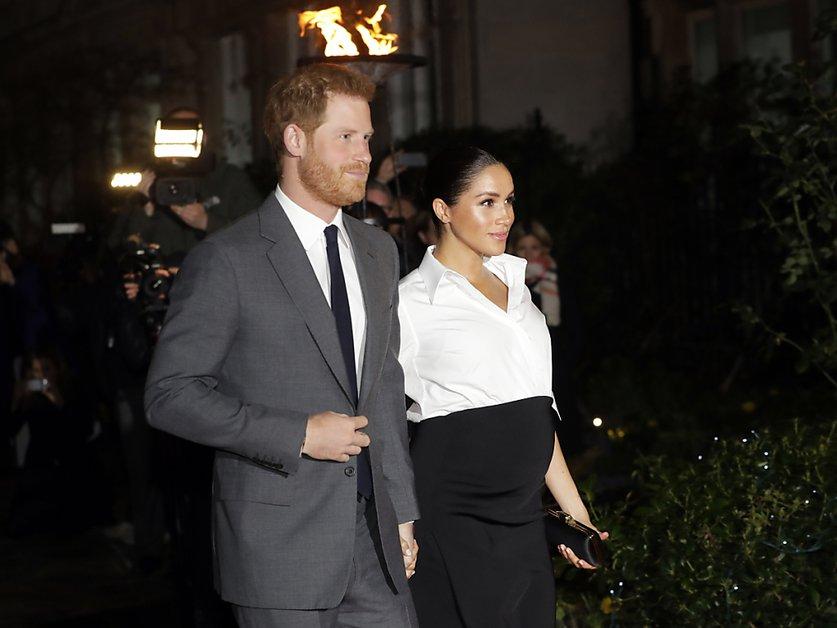 Le prince Harry et Meghan tournent la page royale