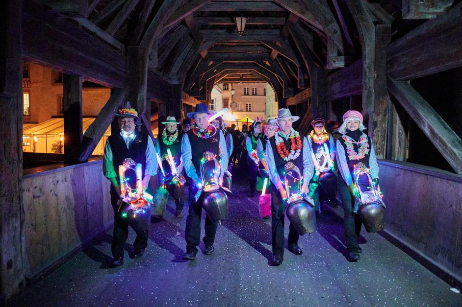 Cortège de nuit du Carnaval des Bolzes