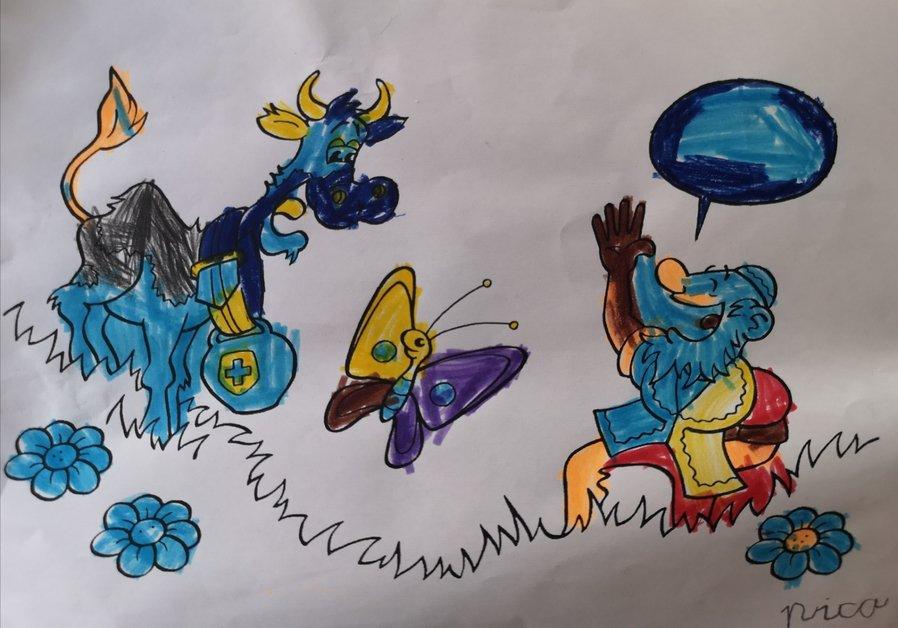 Les dessins de Marguerite et l'armailli