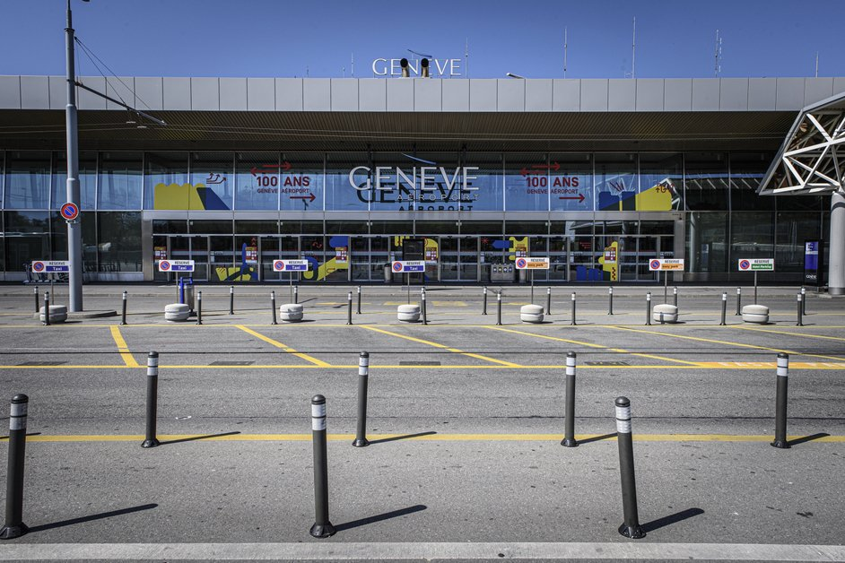L'aéroport de Genève fantômatique