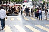 Lausanne rouvre son marché alimentaire
