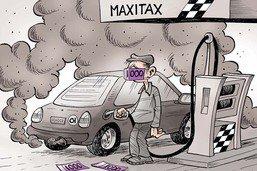 Augmentation du prix de l'essence pour préserver le climat