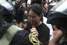 Keiko Fujimori obtient sa libération sous caution