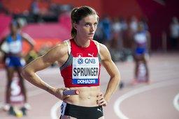 Lea Sprunger en lice à Oslo