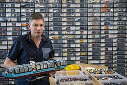 Le paradis des passionnés de Lego prend ses quartiers à Bulle