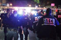 Une hausse des fusillades à New York nourrit la polémique