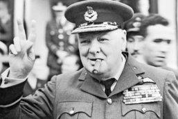 Le charme de Churchill et Chaplin