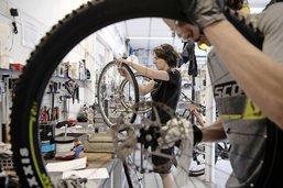Les magasins de vélos pris d'assaut