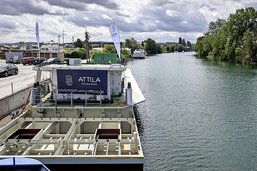 Le premier bateau-hôtel de Suisse