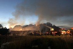 Un incendie ravage une STEP privée