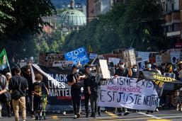 Marée humaine contre le racisme