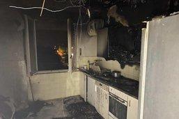 Un appartement part en fumée à Fribourg
