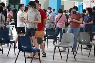 Les Singapouriens ont voté sous strict contrôle sanitaire
