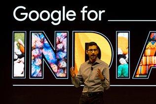 Google va investir dix milliards de dollars en Inde