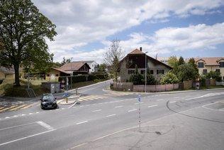 Restriction de circulation à Montet