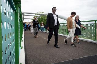 La passerelle de Villars-Vert inaugurée