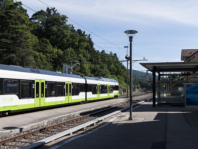 La ligne La Chaux-de-Fonds - Neuchâtel sera fermée 8 mois en 2021