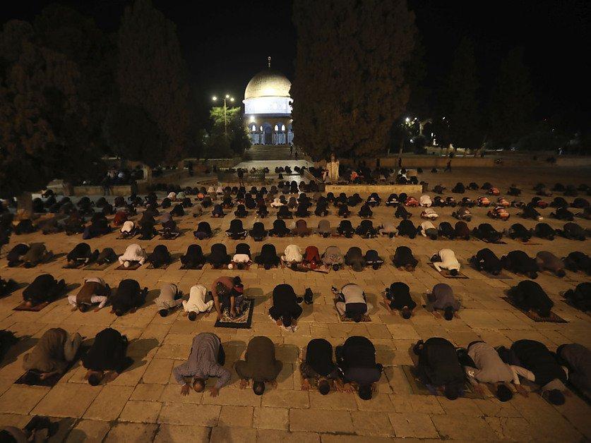 A Jérusalem, l'esplanade des Mosquées rouvre