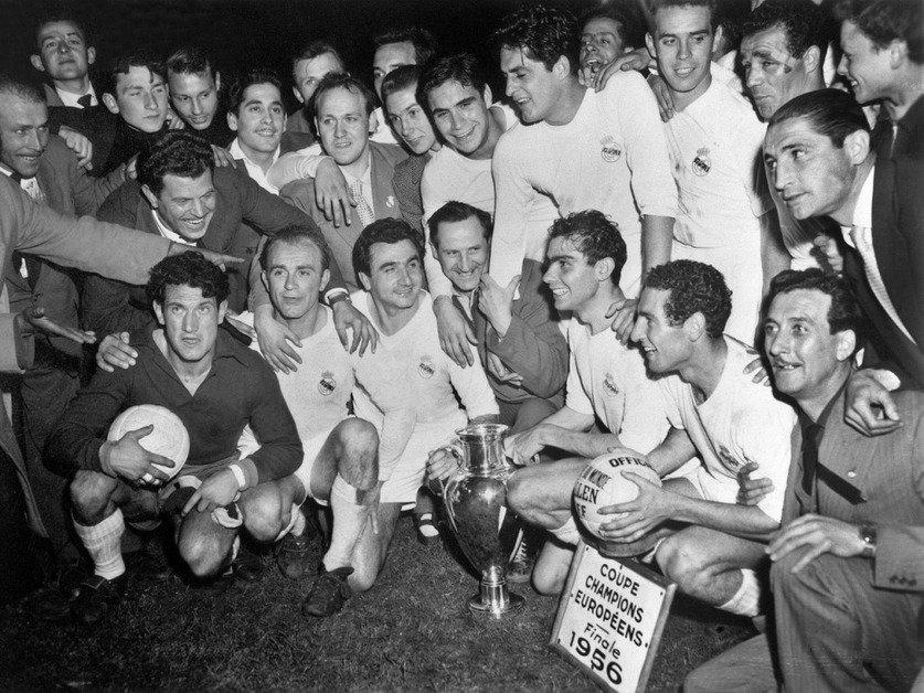 1956: la première pour le Real Madrid