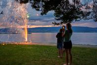 Une fête nationale très intimiste à Estavayer-le-Lac