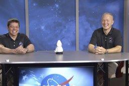"""Les astronautes racontent la descente """"animale"""" de leur Dragon"""