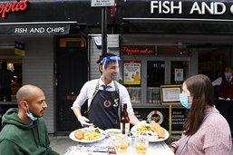 Le coup de pouce de Londres redonne le sourire aux restaurateurs