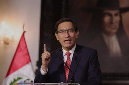 Procédure de destitution lancée contre le président péruvien