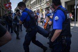 Intervention de la police contre une fête illégale à Berne