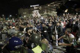 Trois policiers blessés lors d'une manifestation à Sofia