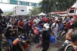 Guatemala: arrestation de migrants en route vers les USA