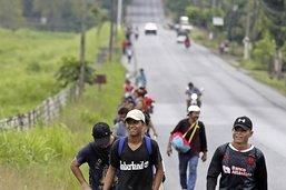 Les migrants se remettent en marche