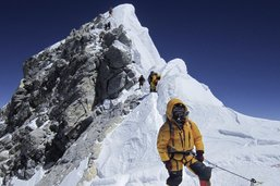 L'Everest? Son terrain de jeu