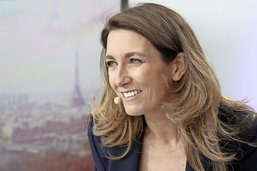 Anne-Claire Coudray, le soleil du JT