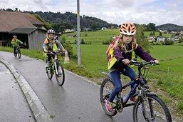 A vélo à l'école, vraiment plus sûr?