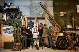 Il collectionne les véhicules militaires