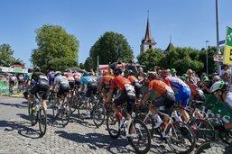 Pas de Tour de Suisse à Moudon