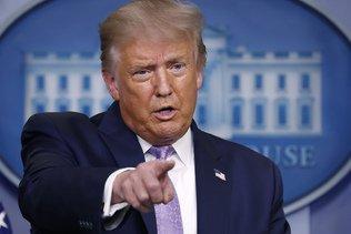 Facebook retire une vidéo de Trump jugée mensongère sur la pandémie
