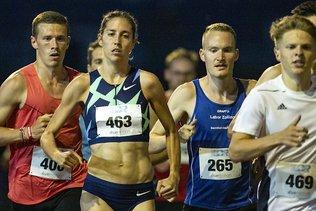 5000 m: un excellent chrono pour Fabienne Schlumpf
