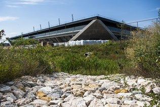 Lausanne: un écrin de verdure pour le stade de la Tuilière