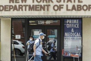 Etats-Unis: moins de nouveaux chômeurs, toujours pas de plan d'aide